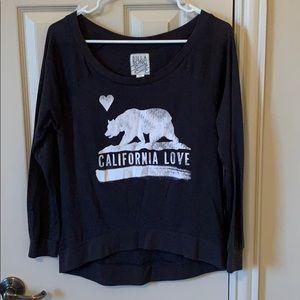 Billabong California Love hi/low tee
